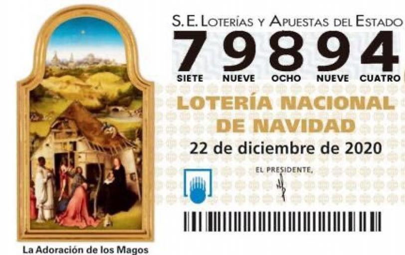 LOTERIA NADAL UE CASTELLDEFELS 2020